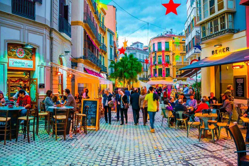 Bares y restaurantes en Malaga