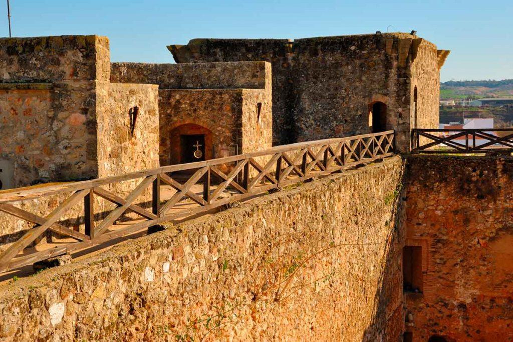 Castillo de Niebla en Huelva