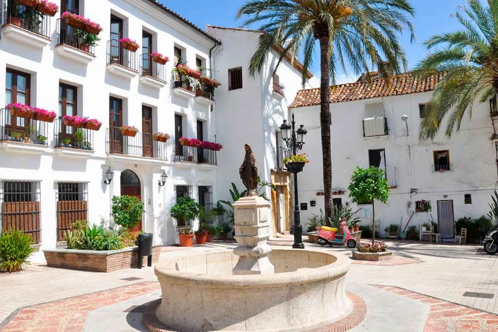 Plaza del Casco antiguo de Marbella