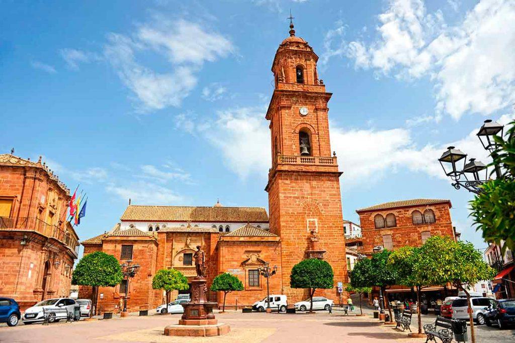 Plaza de España Montoro Córdoba