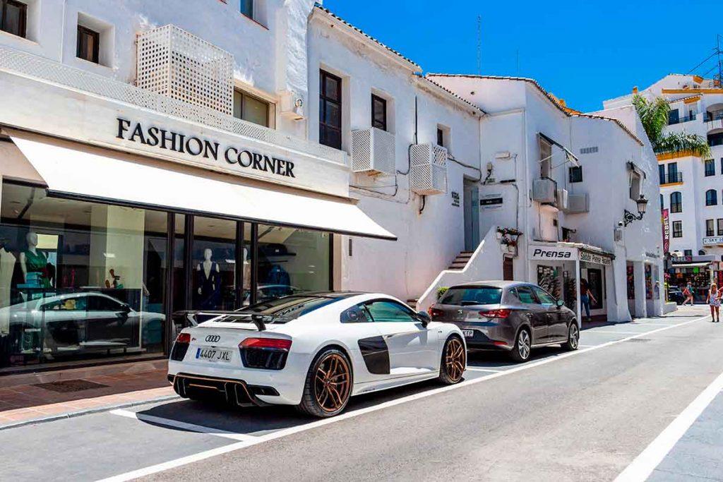 Tienda de lujo en Marbella