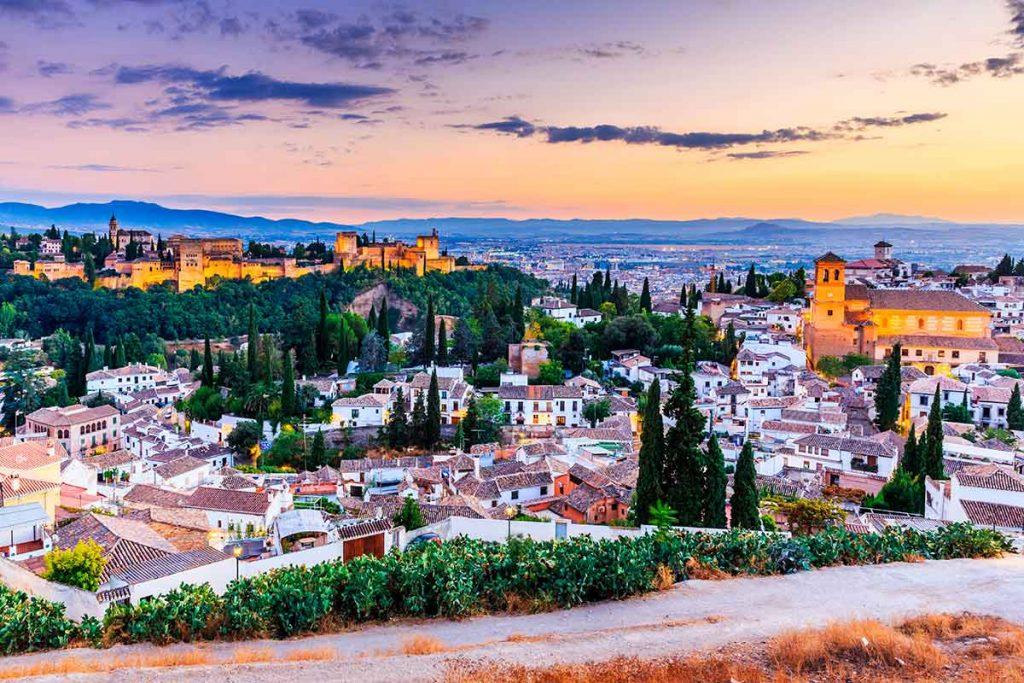 Vistas ciudad de Granada