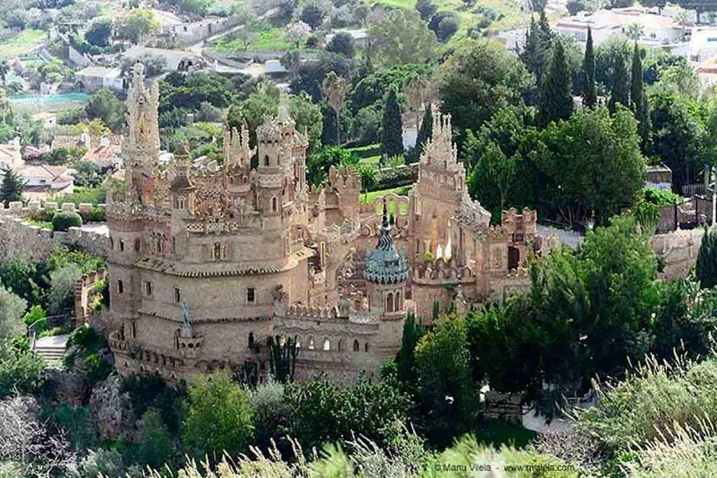 Vista del Castillo de Colomares